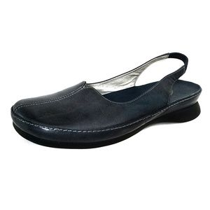 Clark's sling back closed toe low heel mules shoes